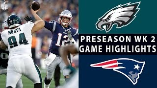 Download Eagles vs. Patriots Highlights | NFL 2018 Preseason Week 2 Video
