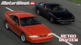 Download 1994 Mustang GT vs Camaro Z-28 | Retro Review Video
