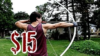 Download Easy, Cheap, POWERFUL Bow (NO Power Tools or Heat Needed) Video