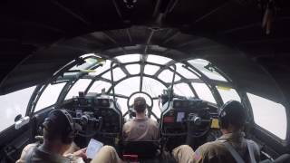 Download Boeing B-29 Superfortress 'Fifi' - Landing at Oshkosh, WI - Airventure 2016 - Cockpit View Video