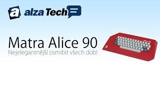 Download Alza Muzeum: Matra Alice 90, nejelegantnější osmibit všech dob! - AlzaTech #442 Video
