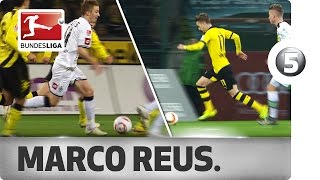 Download Marco Reus - Top 5 Goals vs. the Borussias Video