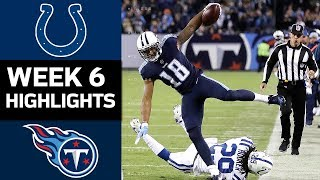 Download Colts vs. Titans | NFL Week 6 Game Highlights Video