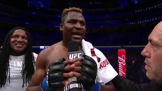 Download UFC 218: Francis Ngannou Octagon Interview Video