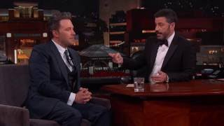 "Download Deleted Scene from ″Batman v Superman"" Starring Jimmy Kimmel Video"