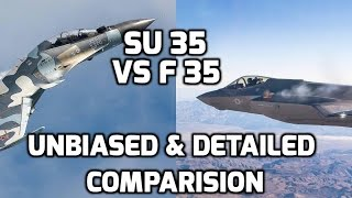 Download SU 35 VS F 35 UNBIASED DETAILED COMPARISON:TOP 5 FACTS (Updated) Video