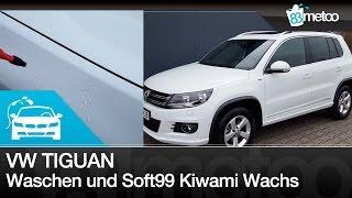 Download Soft99 Kiwami Extreme Gloss Wax und VW Tiguan Autowäsche | Auto wachsen im Winter | 83metoo Video