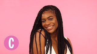 Download 4 Dope Ways to Rock Braids With Your Natural Hair | Cosmopolitan Video