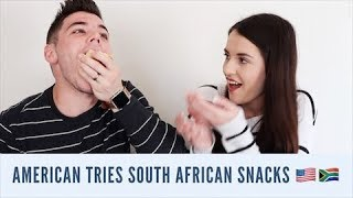 Download AMERICAN TRIES SOUTH AFRICAN SNACKS!! Video