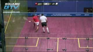 Download Squash : Thierry Lincou v Amr Shabana Semi-Final Roundup U.S. Open 2011 Video
