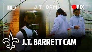 Download J.T. Barrett Cam | New Orleans Saints Rookie Tour Video