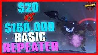 Download Borderlands 2 | $20 Basic Repeater vs. $160,000 Basic Repeater (NOT CLICKBAIT?!!?!) Video