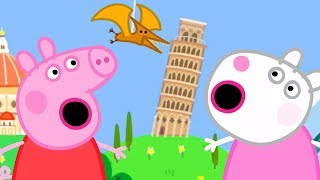 Download Peppa Pig Official Channel - Peppa Pig and Suzy Sheep Visits the Tiny Land! Video