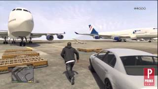 Download GTA 5: How to Steal a Jumbo Jet Video