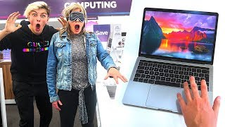 Download Buying EVERYTHING I Touch Blindfolded - Challenge Video