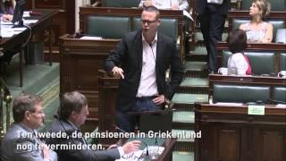 Download Griekenland: Raoul Hedebouw clasht met rechts in Parlement Video
