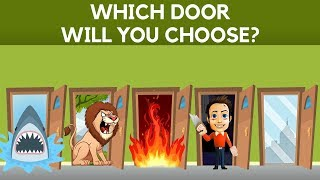 Download Choose a Door To Survive || Hardest Choice Ever || 95% Failed || The Only For Genius Video