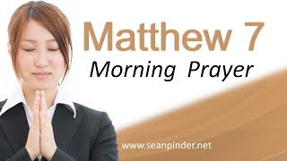 Download OVERCOMING LIFE'S STORMS - MATTHEW 7 - MORNING PRAYER Video