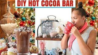 Download DIY Hot Chocolate Bar & Homemade Recipe Video
