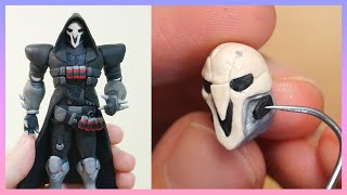 Download #1 Reaper (Overwatch) Polymer Clay Figure Tutorial Video