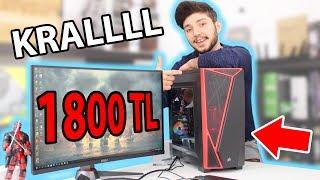 Download 1800 TL Bütçe ile Toplama Oyun Bilgisayarı ve Oyun Performansı Video