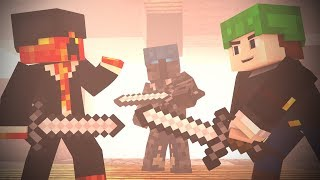 Download BED WARS : FULL Fight Animation Ft. DanTDM , PrestonPlays, PopularMMOS (Minecraft Animation) Video