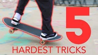 Download 5 HARDEST SKATE TRICKS Video