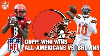 Download By How Much Would the Cleveland Browns Beat the NCAA All-America Roster? | NFL Network | DDFP Video