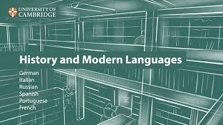 Download History and Modern Languages at Cambridge Video