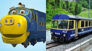 Download Chuggington Trains in Real Life 2018 | Cartoon for Kids Video