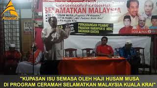 Download TERKINI: Husam Musa Pendedahan Panas Isu Semasa Kelantan di Ceramah Selamatkan Malaysia~ Video