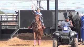 Download Team Roping with a Mechanical Dummy Video