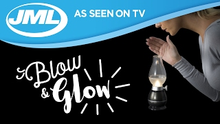 Download Blow and Glow: LED Camping and Indoor Lantern from JML Video