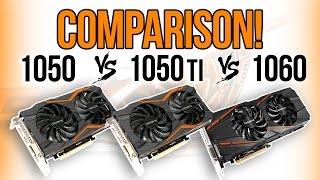 Download Best Budget GPU? GTX 1050 vs 1050 Ti vs 1060 Video