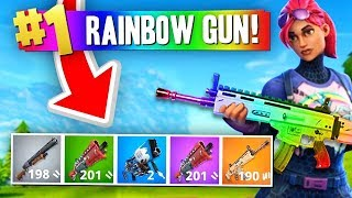 Download The RAINBOW GUN Challenge! (Fortnite Battle Royale) Video
