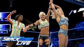 Download Charlotte Flair, Natalya & Naomi vs. The Riott Squad: SmackDown LIVE, Nov. 28, 2017 Video