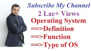 Download Operating System: Definition, Objective , Function and Types Video