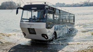 Download Ein Bus geht baden - Mit dem Hafencity Riverbus auf Stadtkreuzfahrt Video