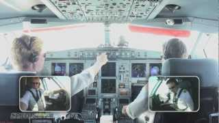 Download Approach Landing Seattle Airport IFR Airbus 333 Video
