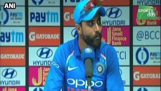 Download Ind vs wI : रवींद्र जडेजा : रोहित और विराट ने खेली धमाकेदार पारी | Sports Tak Video