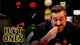 Download Joey Fatone Talks *NSYNC, DJ Khaled, and Guy Fieri While Eating Spicy Wings | Hot Ones Video