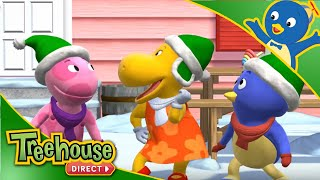Download The Backyardigans are the Action Elves! Here to help Santa! | Treehouse Direct Clips Video