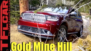 Download 2017 Dodge Durango Takes on a Snowy Gold Mine Hill Off-Road Review Video