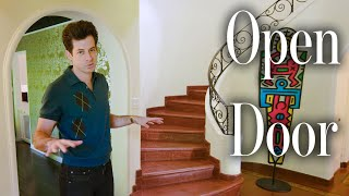 Download Inside Mark Ronson's Spanish-Style LA House | Open Door | Architectural Digest Video