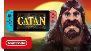 Download Catan - Launch Trailer - Nintendo Switch Video