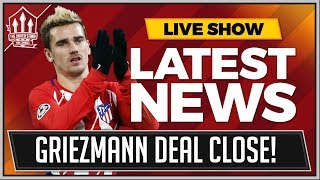 Download GRIEZMANN To MANCHESTER UNITED Latest! MAN UTD News Video