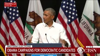 Download Obama campaigns for Democratic candidates in Calif. Video
