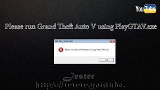 Download Please run Grand Theft Auto V using PlayGTAV.exe(не запускається ГТА 5? (на піраткі) Video