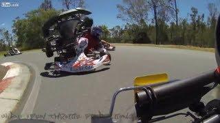 Download Go Kart Crash Compilation Video