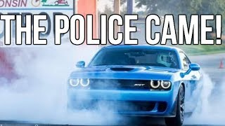 Download My 1st Time Ever Doing A Burnout & Launch Control In My Hellcat!! They Called the Police On Me haha Video